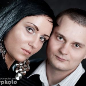 Fotografia studyjna: Natalia i Piotr